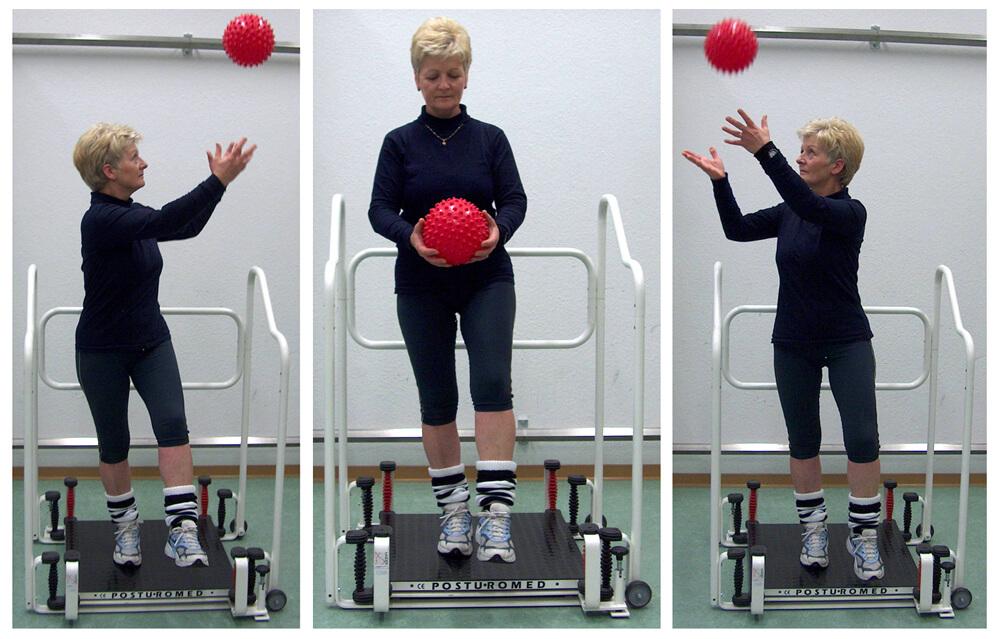 Physiotherapie | Posturo-Standbein Drehung