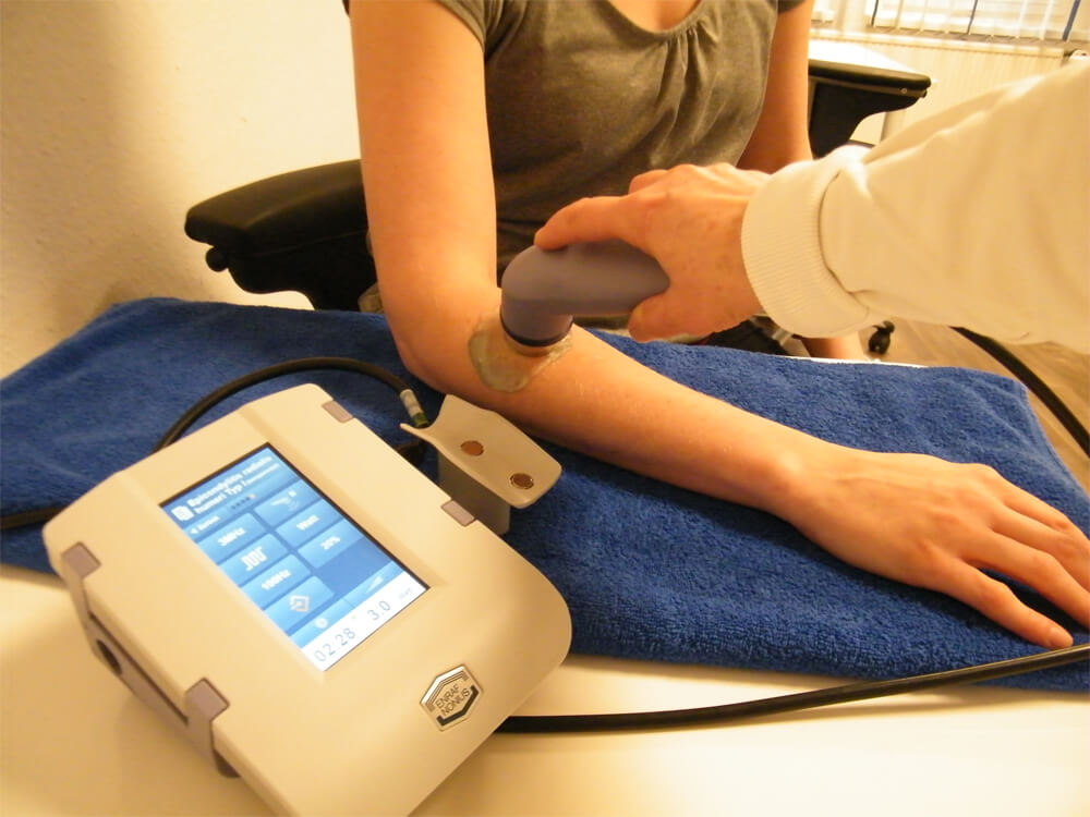 Ultraschalltherapie Arm