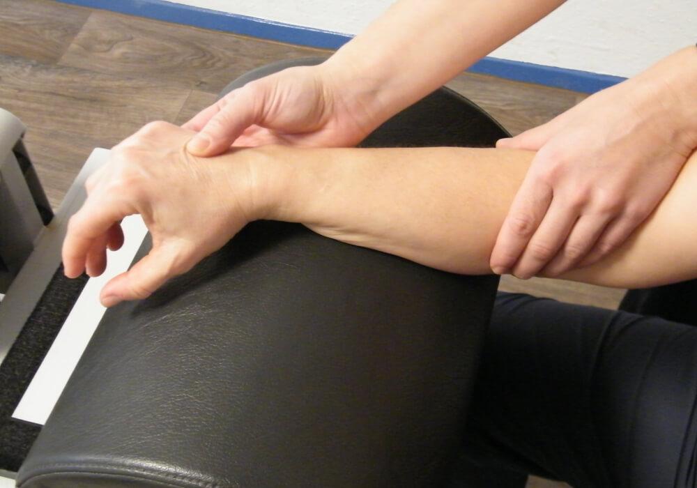 Behandlung Unterarm