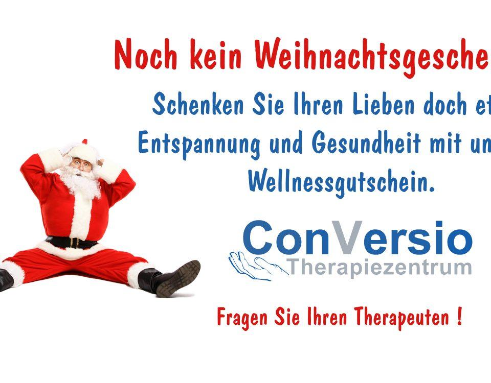 Wellnessgutschein zur Weihnachten verschenken