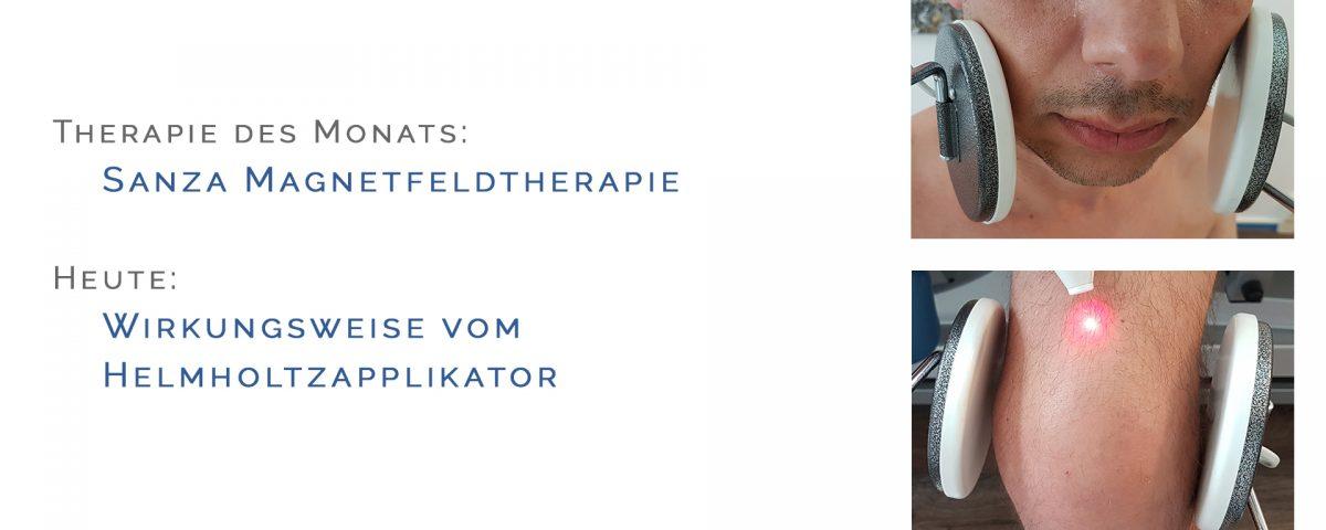 Helmholtzapplikator, Therapie des Monats