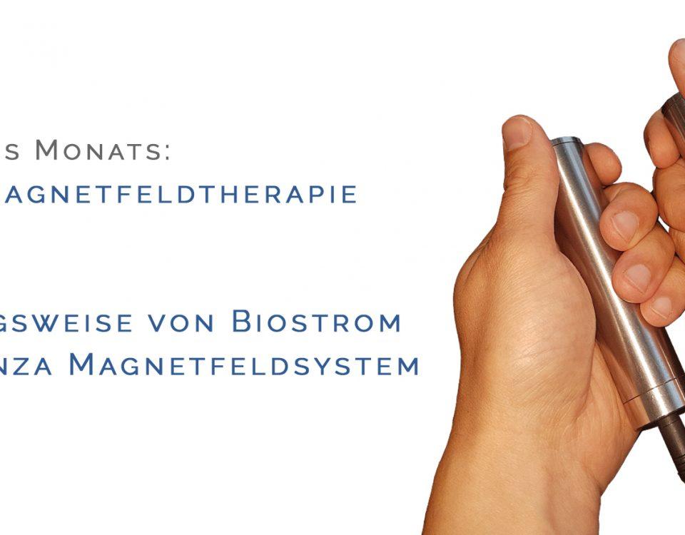 Sanza Magnetfeldtherapie mit Biostrom