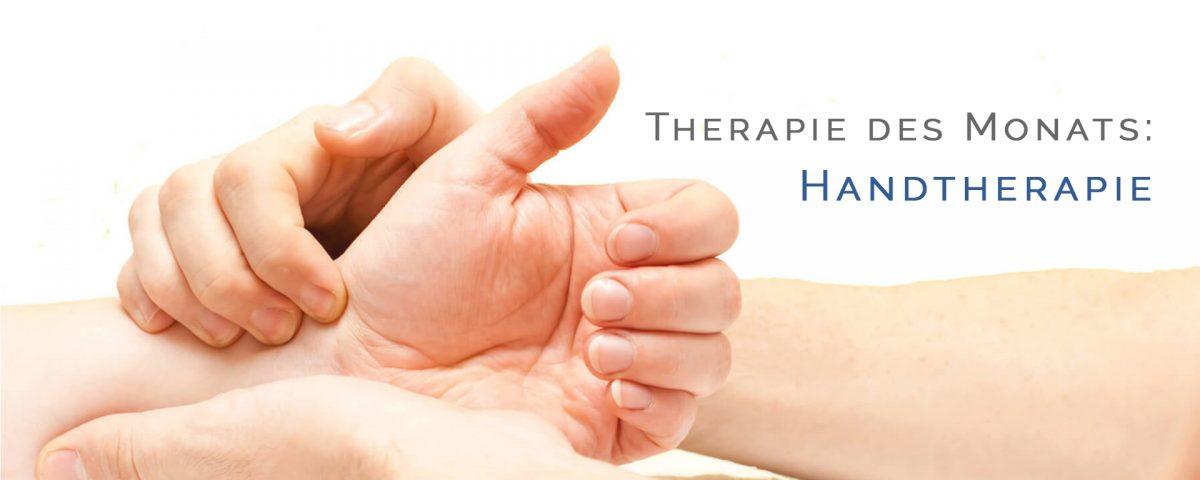 Titelbild Handtherapie
