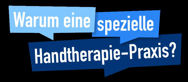 Beitragsbikd - Wieso eine spezielle Handtherapie-Praxis?
